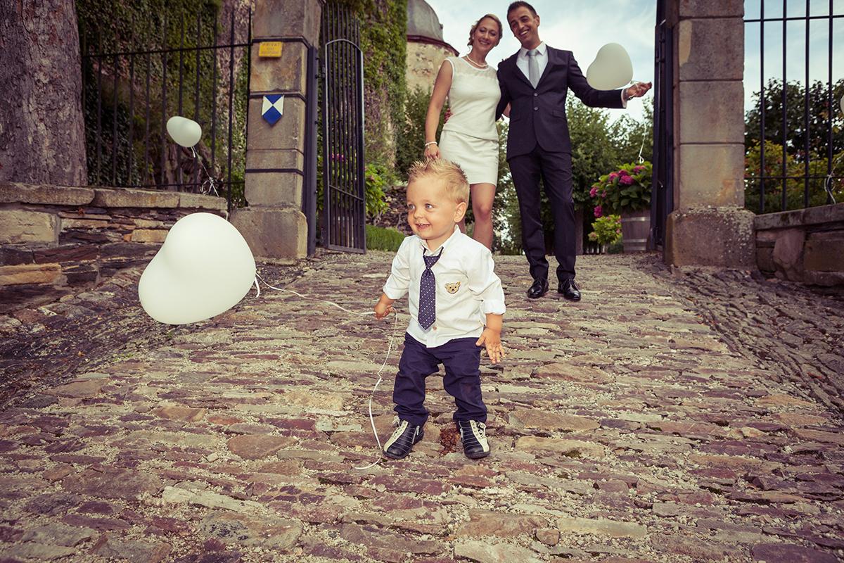 Hochzeitsreportage Schloß Gemünden
